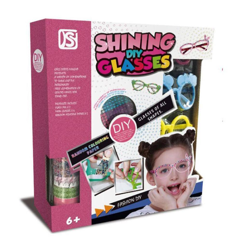 Shining DIY Glasses.