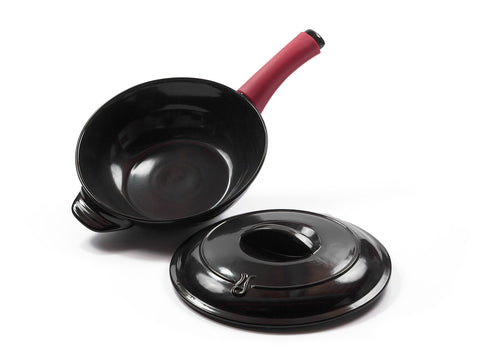 28cm Traditions Wok with Lid
