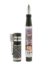 Load image into Gallery viewer, Derbent City 2000th Anniversary Silver Fountain Pen