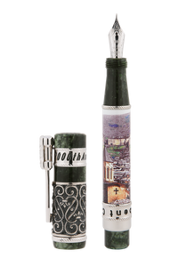 Derbent City 2000th Anniversary Silver Fountain Pen