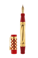 Load image into Gallery viewer, Gaudi 150th Anniversary Fountain Pen Red
