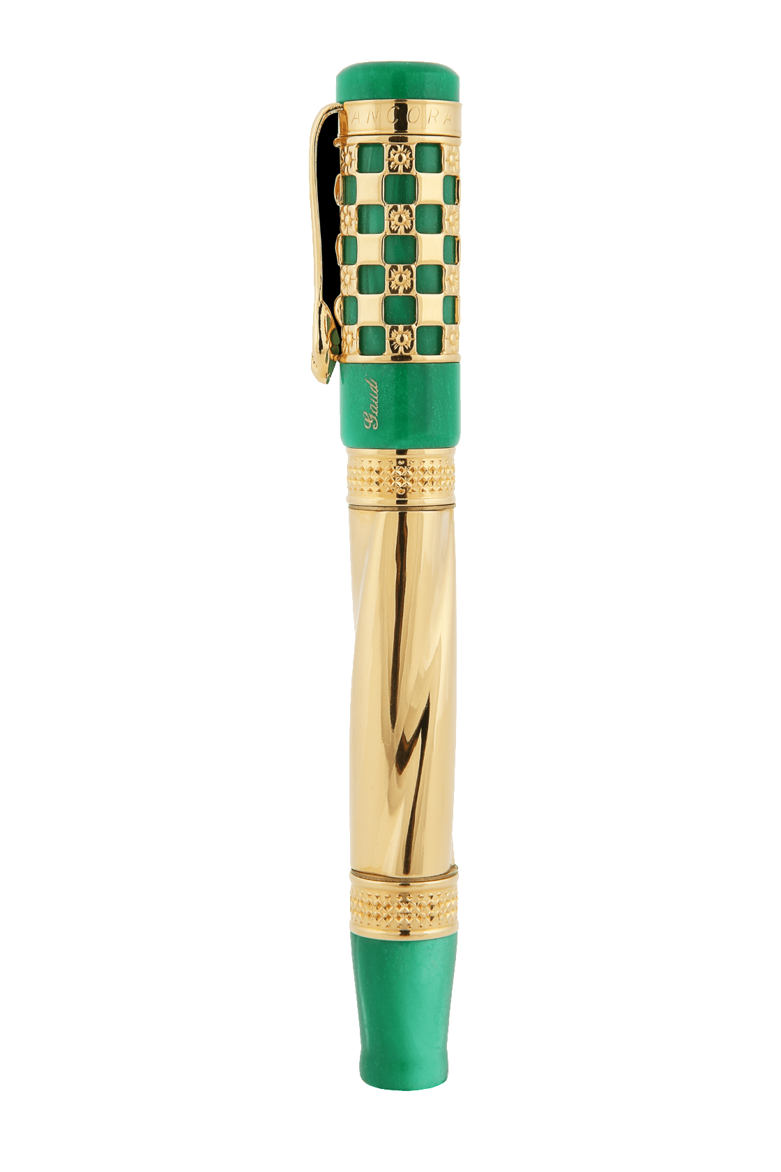 Gaudi 150th Anniversary Rollerball Pen Green