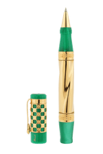 Load image into Gallery viewer, Gaudi 150th Anniversary Rollerball Pen Green