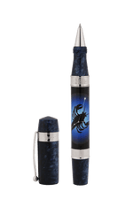 Load image into Gallery viewer, Zodiac Cancer Rollerball Pen