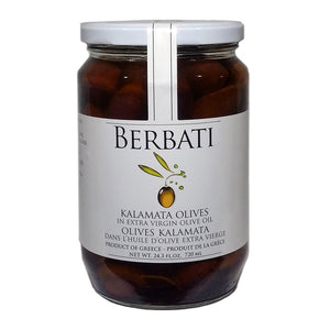 Kalamata Olives in Extra Virgin Olive Oil - 720ml