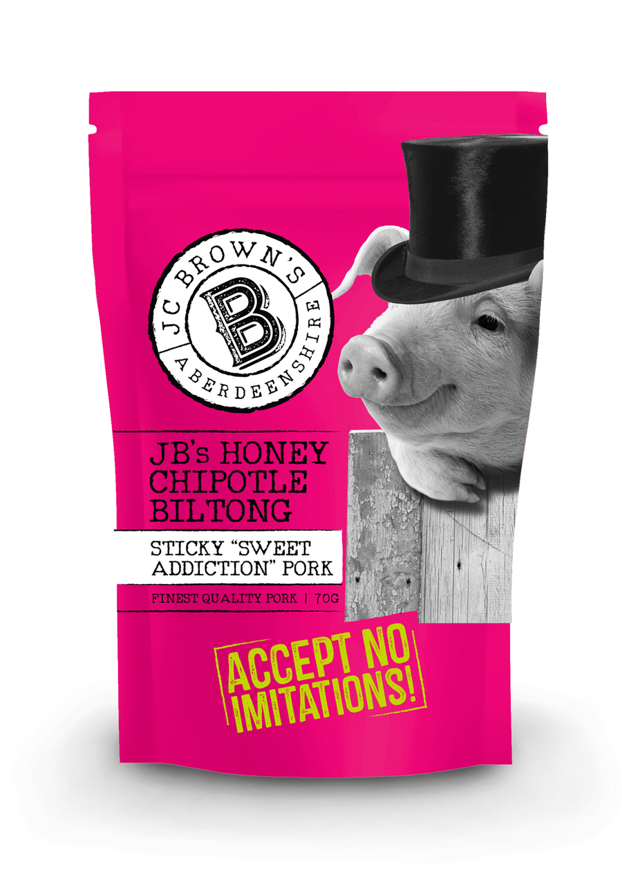 JB's Honey Chipotle Biltong
