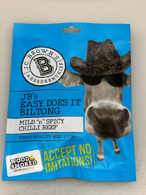 Hickory Smoked JB's Easy Does It Biltong