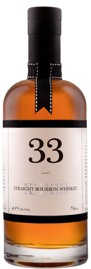 33' Straight Bourbon Whiskey