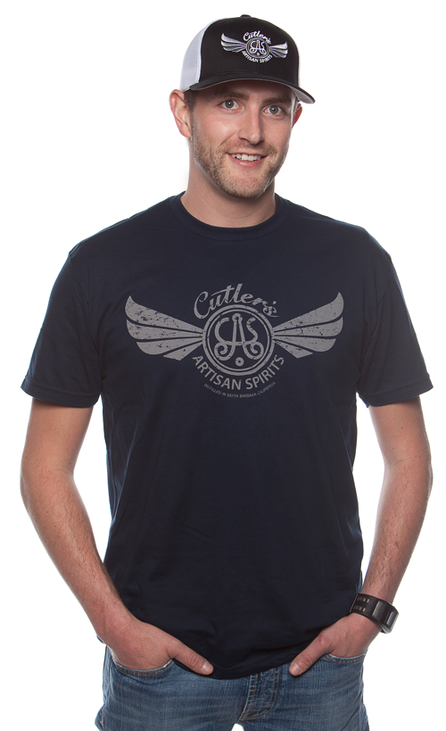 Men's Navy Logo Tee-Shirt