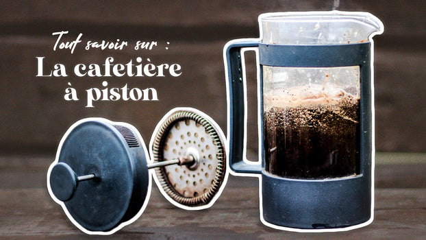 Cafetière à piston (french press) : Tout savoir avant de l'adopter