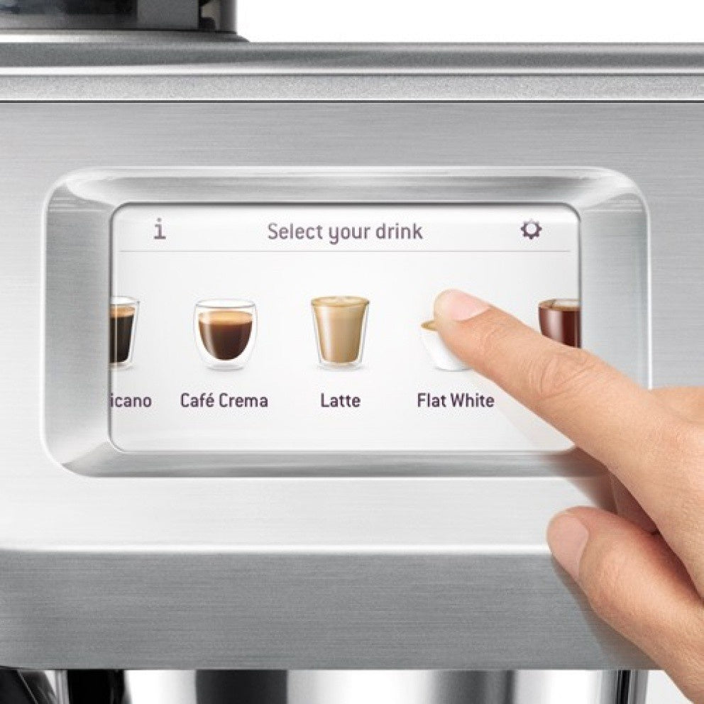 machine expresso SAGE Oracle touch écran digital boissons café