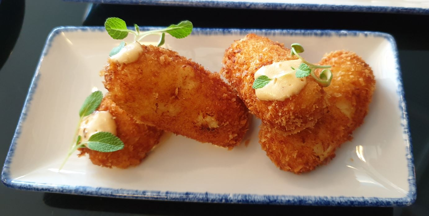 SWEET CORN CROQUETTES