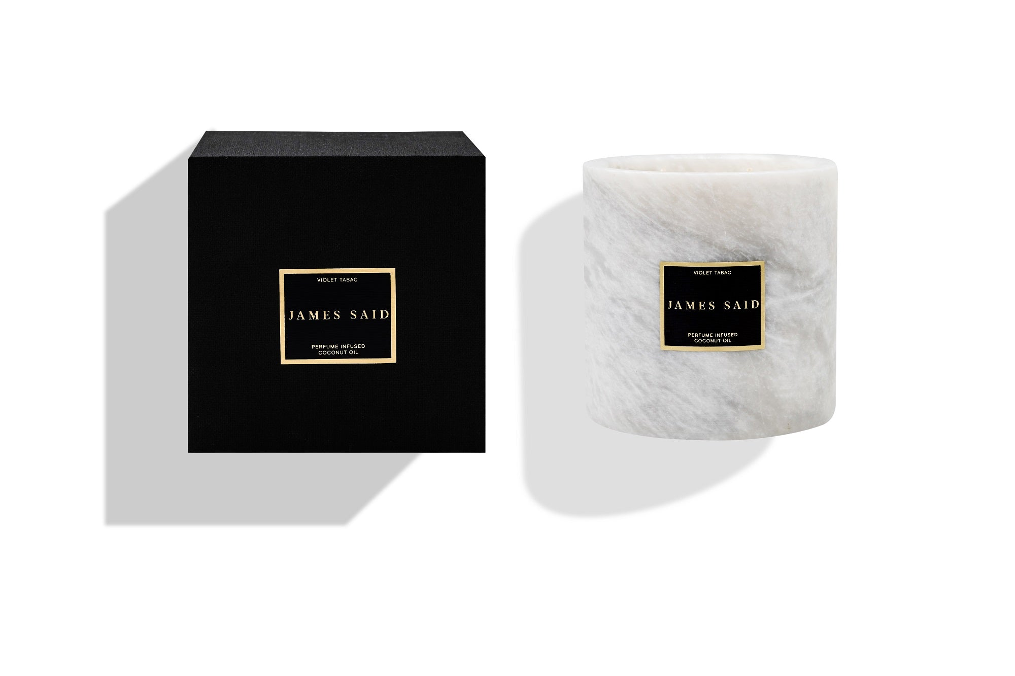 James Said Violet Tabac Onyx Smoked Candle - 1250g