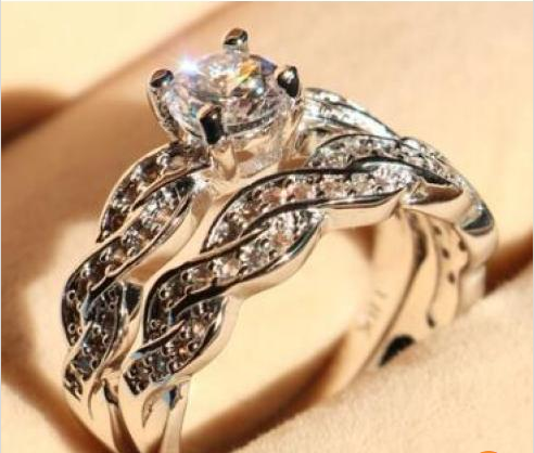Collection: Creative Stimulation Diamond For Couple Ring For Man & Woman