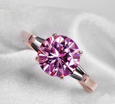 Collection: The Rare Purple Creative Stimulation Diamond Handcrafted Ring