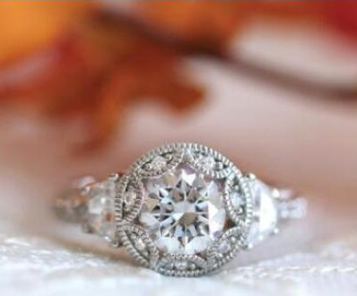 Collection: Creative Simulation Custom Made Rihana's Engagement Ring