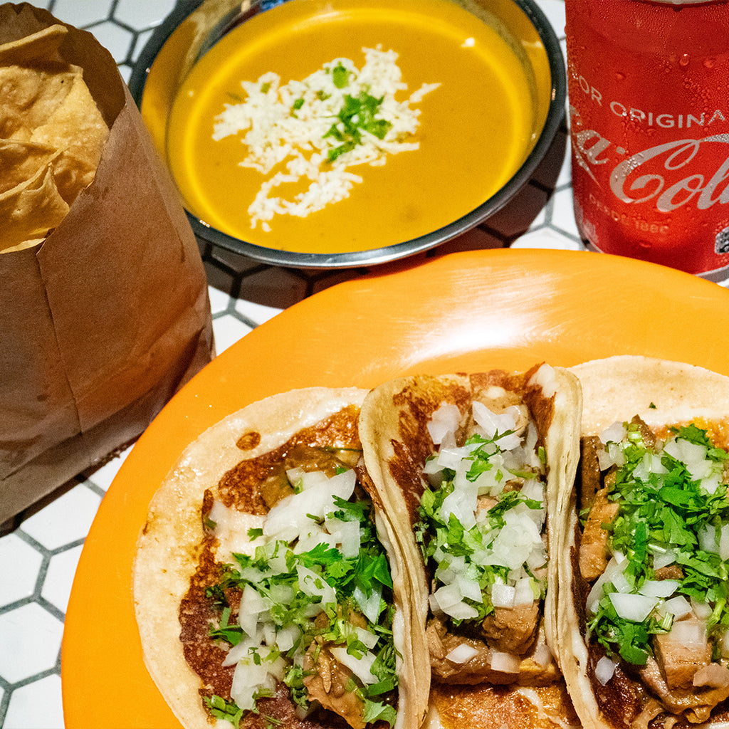 $10 Taco Lunch / Birria de Res.