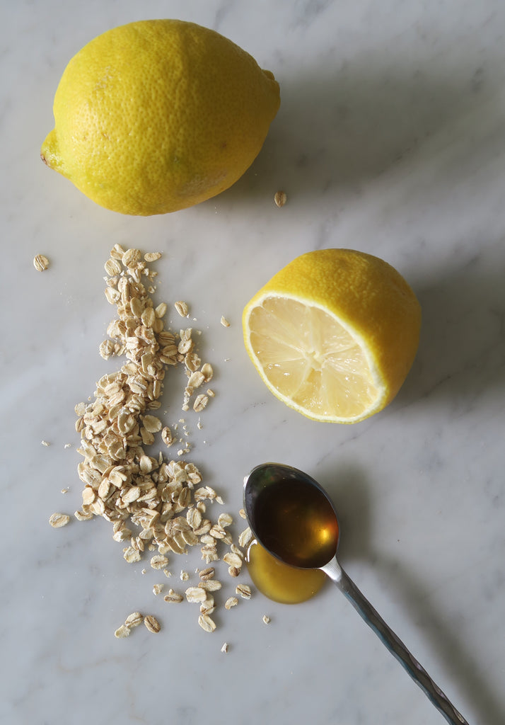 HONEY LEMON OATMEAL FACE MASK