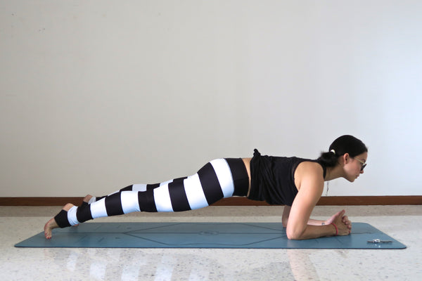 forearm plank lean in