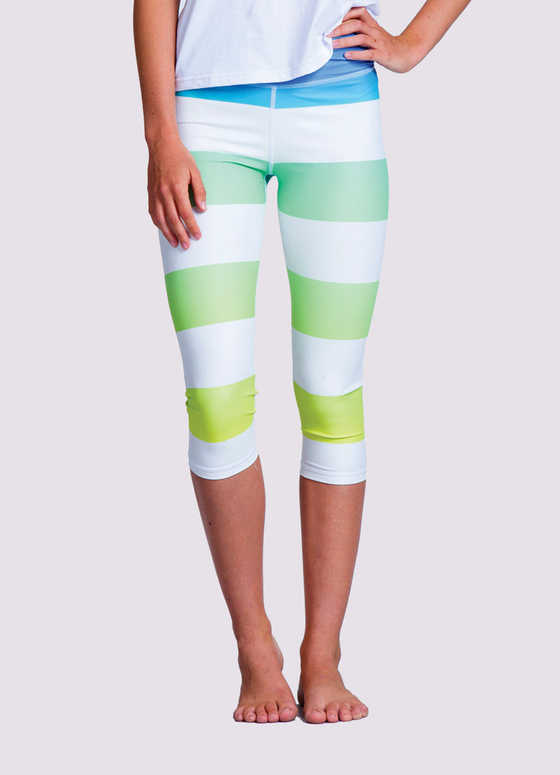 Emiko Capris Leggings - OHSOSOM | Yoga Clothing & Accessories