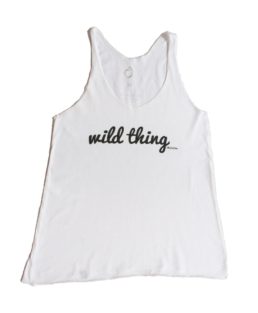 WILD THING TANK - OHSOSOM | Yoga Clothing & Accessories