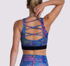 Indre Lace Back Bra - OHSOSOM | Yoga Clothing & Accessories