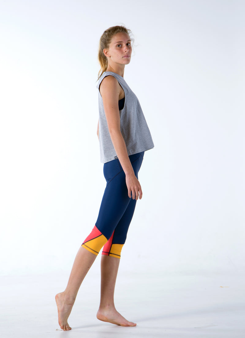 Flora - Legend Capris - OHSOSOM | Yoga Clothing & Accessories
