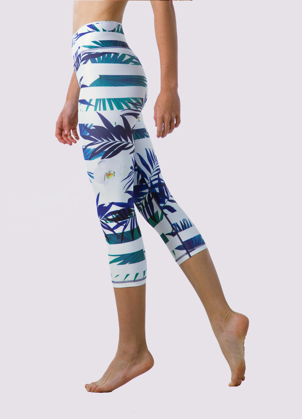 Morgan Capris Leggings - OHSOSOM | Yoga Clothing & Accessories