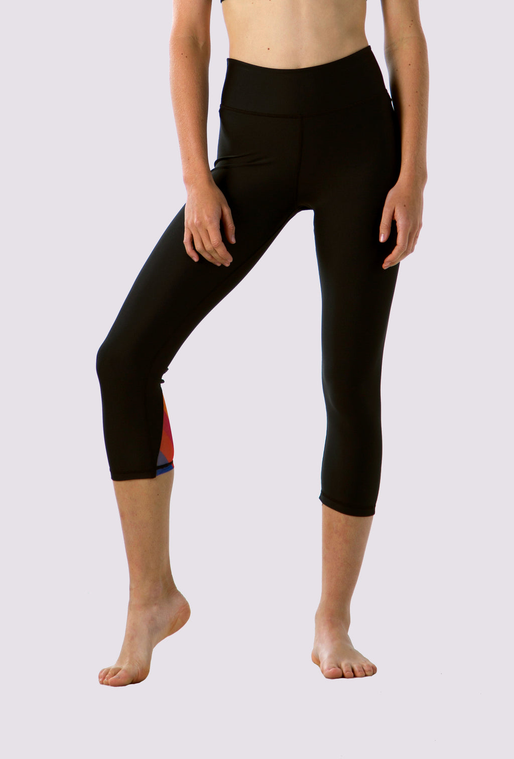 Natalie Capris Leggings - OHSOSOM | Yoga Clothing & Accessories