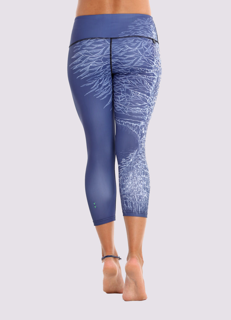 Ros Capris Leggings - OHSOSOM | Yoga Clothing & Accessories