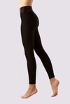 Jet Black Leggings - OHSOSOM | Yoga Clothing & Accessories