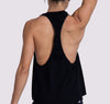 Super Racer Tank - Black - OHSOSOM | Yoga Clothing & Accessories
