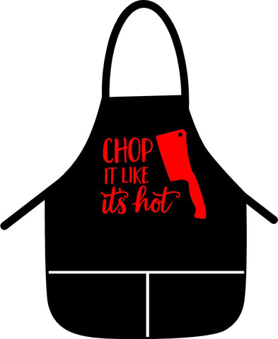 Apron Chop it like its Hot