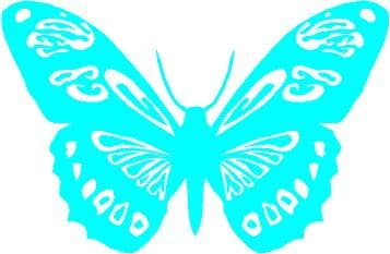 Sticker Butterfly