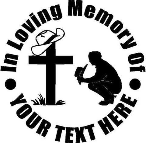 Sticker In loving memory