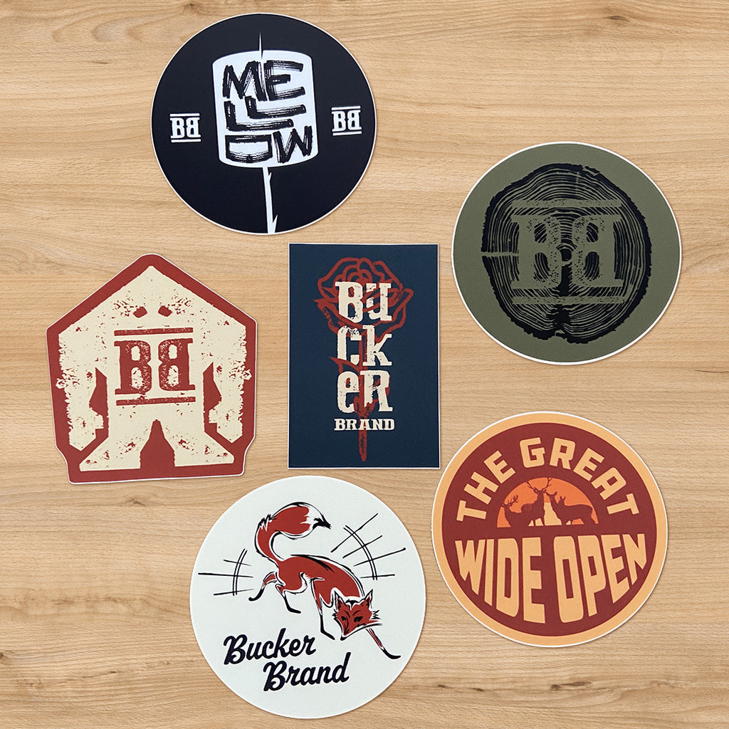 Bucker Sticker Bundle