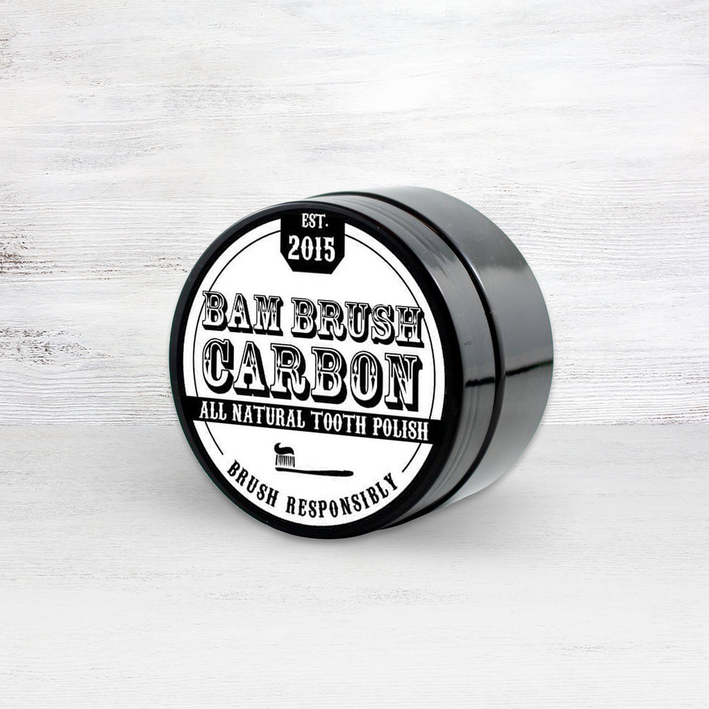 BamBrush Carbon Charcoal Tooth Whitening Polish