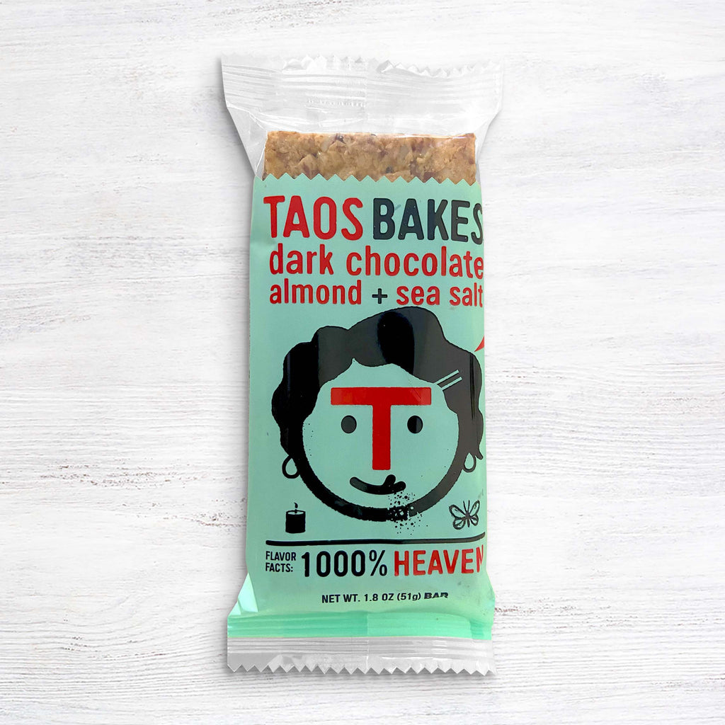 Taos Bakes Dark Chocolate Almond + Sea Salt