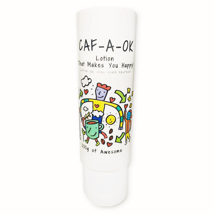 Caf-A-OK cream - Lotion that makes you HAPPY
