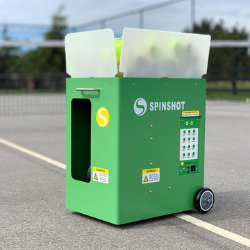 Spinshot Player Tennis Ball Machine - Spinshot Sports US