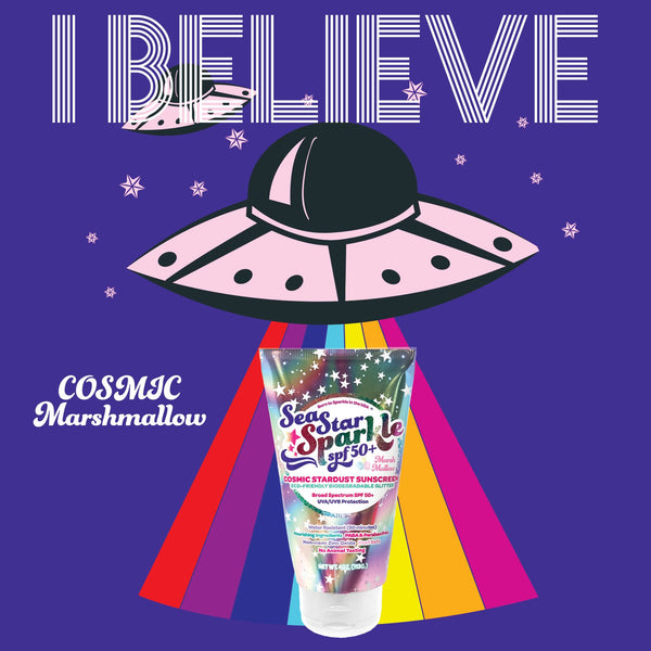 Cosmic Stardust Glitter Sunscreen