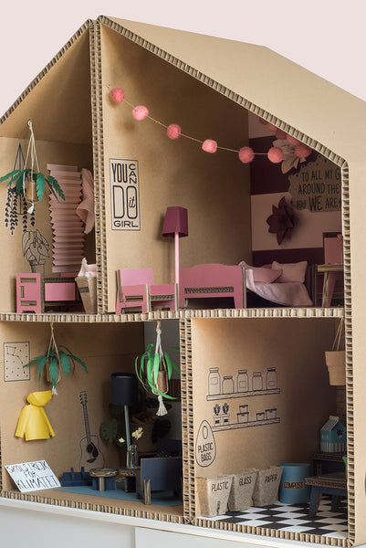 DIY Play House Furniture