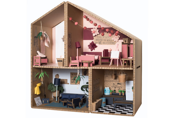 DIY Cardboard Play House