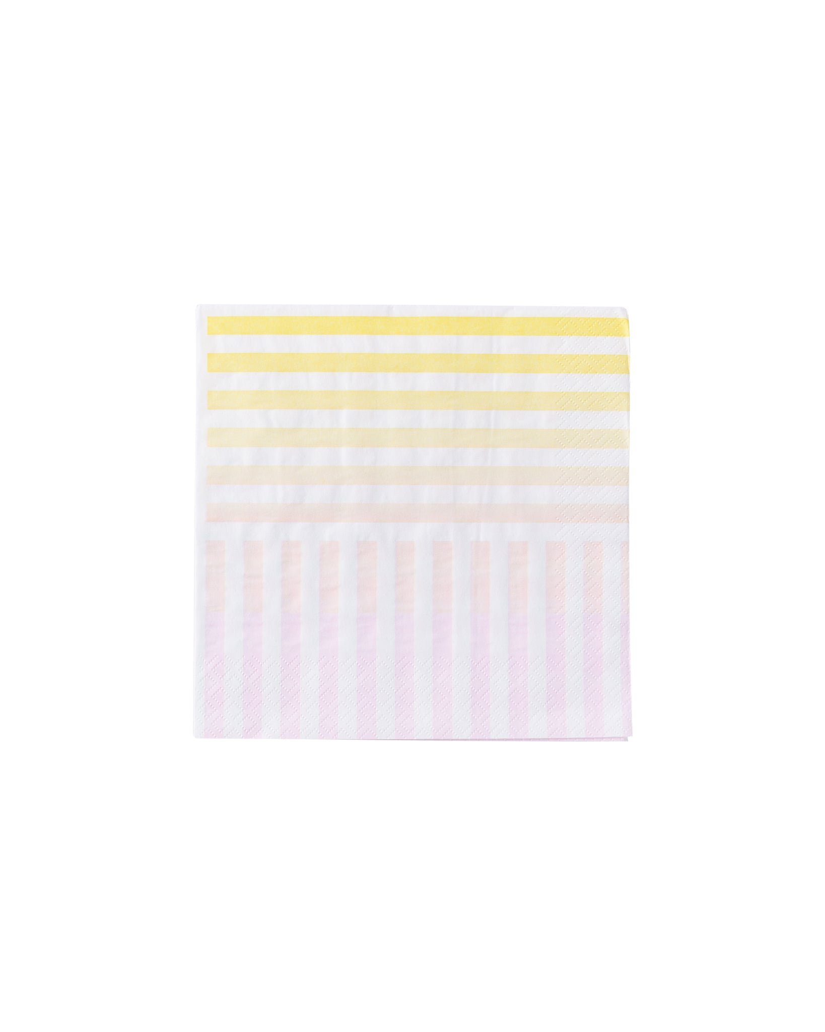 Rainbow Stripe Party Napkins