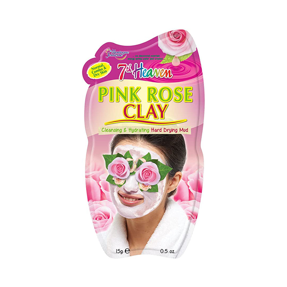7Th Heaven Pink Rose Clay Mud Mask