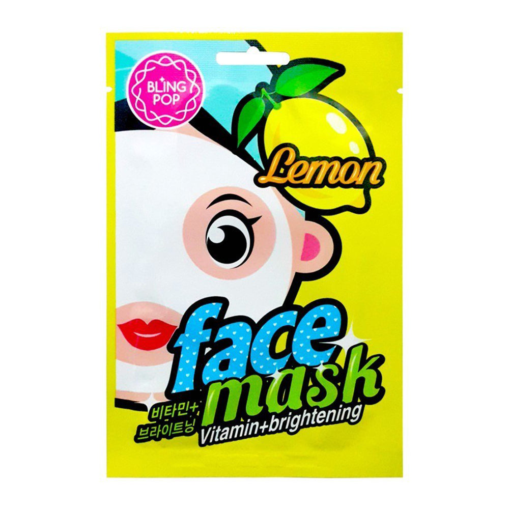 Bling Pop Lemon Vitamin & Brightening Mask