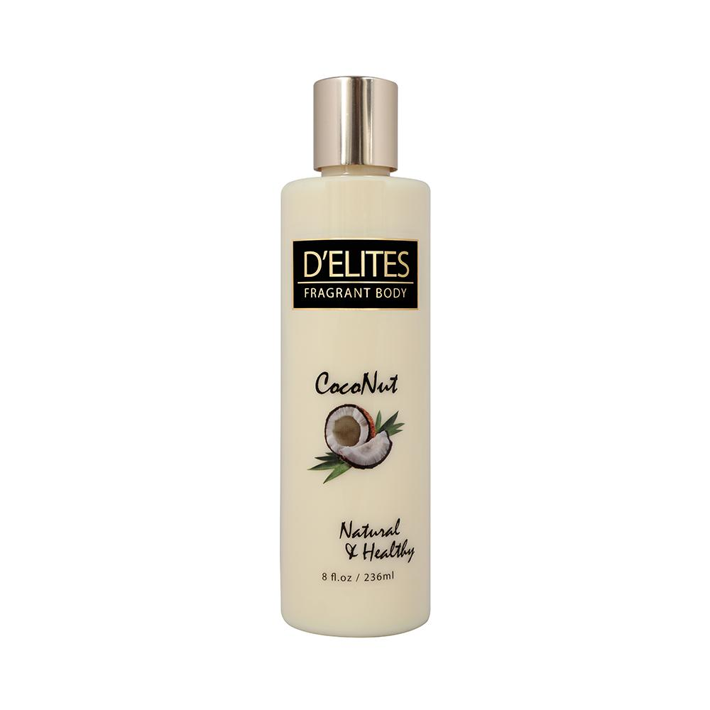 D'Elites Coconut Body Lotion - 236ml