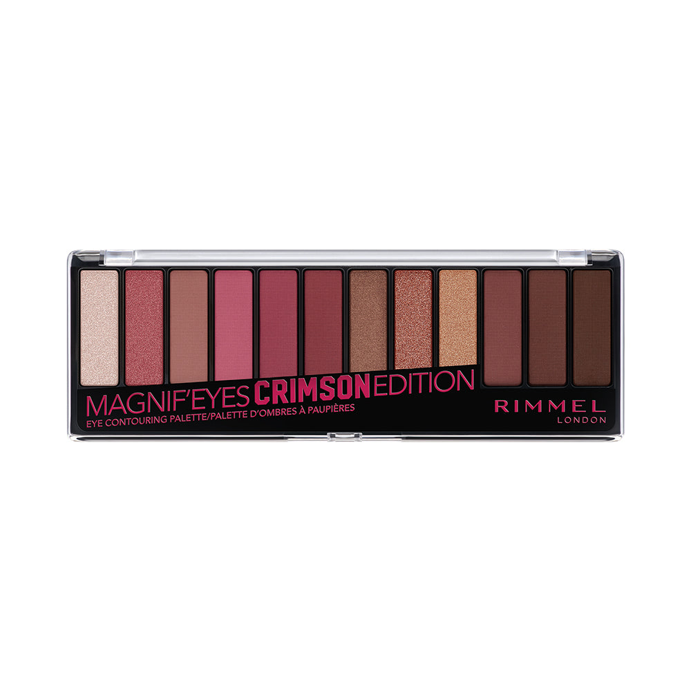 Rimmel Magnif'Eyes Crimson Edition Shadow Palette