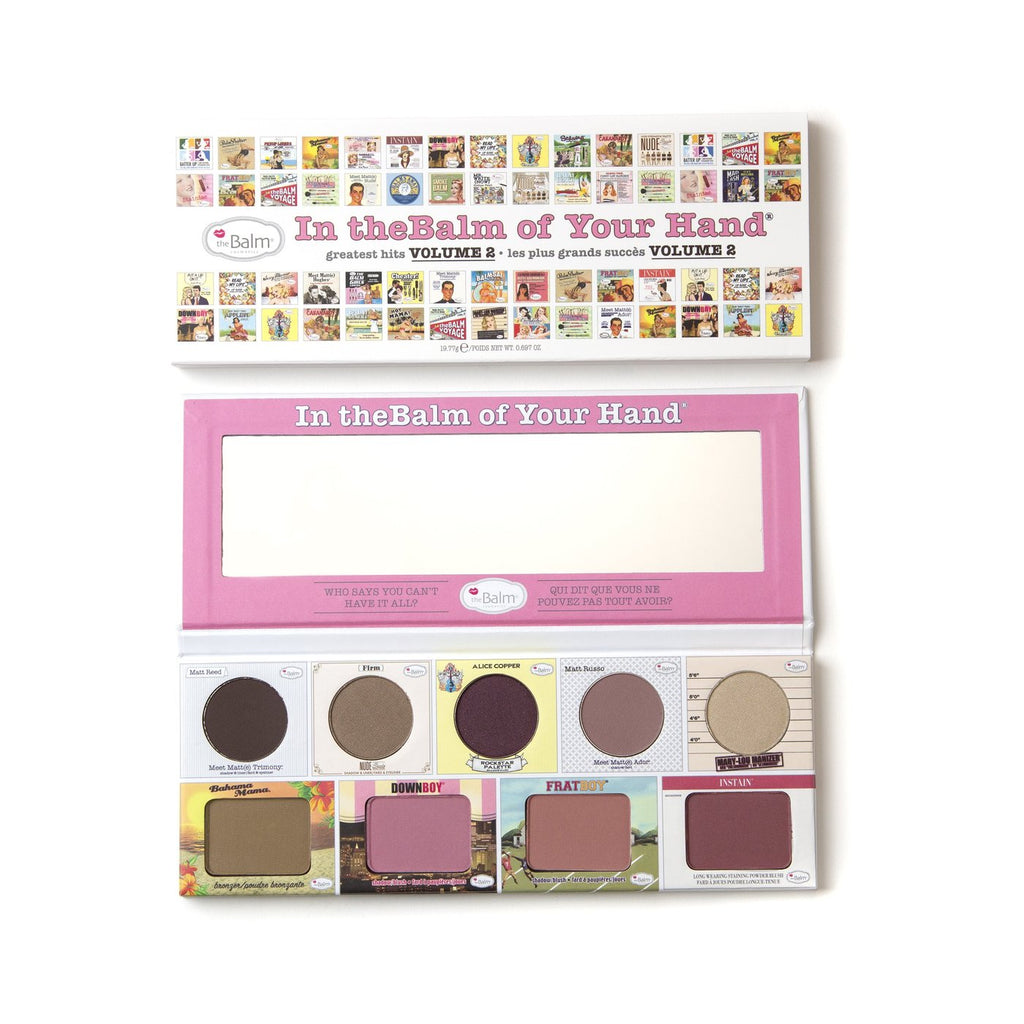The Balm In The Balm Of Your Hand Eyeshadow Palette