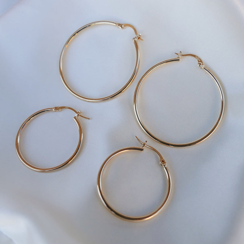 Bayonne Hoop Earrings
